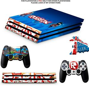 Details about ROBLOX PS4 PRO SKINS DECALS WRAP TEXTURED VINYL (PS4 PRO  VERSION) STICKER
