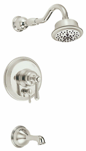 Danze D500062LSPNVT Mid-Town Tub /& Shower TRIM ONLY Kit Polished Nickel