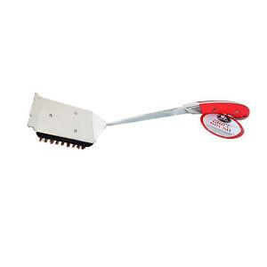 Bull Avant Soft Grip Handle Big Head Grill Cleaning Brush