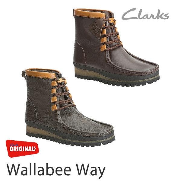 Clarks 6,7, Originale Mens Wallabees Weg Dunkelbraun UK 6,7, Clarks 8,9, 10,11, 12 G 44aec6