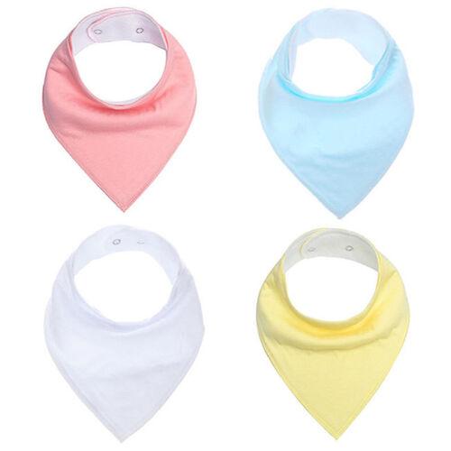 Baby Infant Boy Girl Bandana Bibs Feeding Saliva Towel Dribble Triangle Bib Z