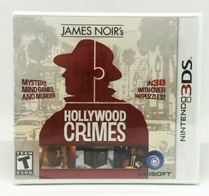 James-Noir-039-s-Hollywood-Crimes-Nintendo-3DS-Brand-New-Factory-Sealed