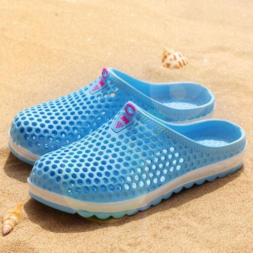 Runde Zehen Hausschuhe Sandalen Clogs Flip Flops Sommer Pool Frauen Outdoor