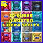 50 Profilattici Preservativi DUREX Ritardanti Invisible Sottili Love XL Tropical
