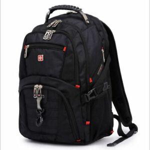 Détails sur Swiss Gear étanche Sac de voyage sac à dos Laptop Ordinateur Portable Sac D'école afficher le titre d'origine