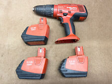 Hilti Sfh 151 A Drill With 3 Batteries
