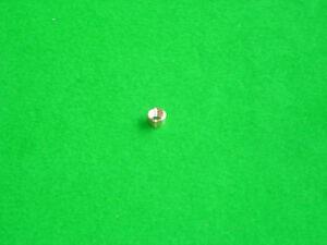 pool cue tips 5 x 12mm Peradon screw in snooker