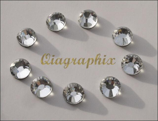 5x 1440 Pcs (50 gross) DMC Iron On Hotfix Crystal Rhinestones Clear SS10, SS10A