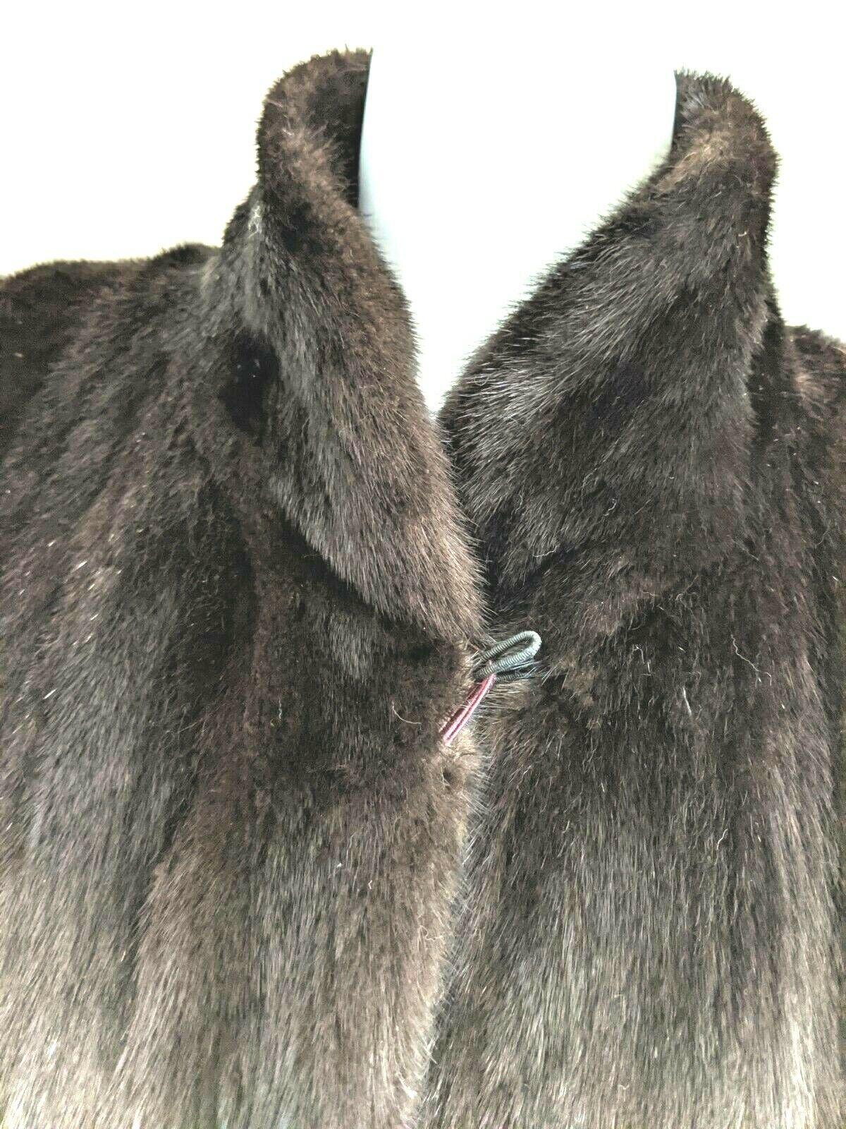 Gorgeous Real Ranch mink Female pelts Fur Coat br… - image 8