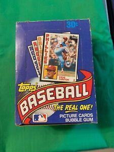 1984-Topps-Baseball-36-Pack-Wax-Box-Mattingly-Ryan-Ripken-Straw-Untouched-PSA10