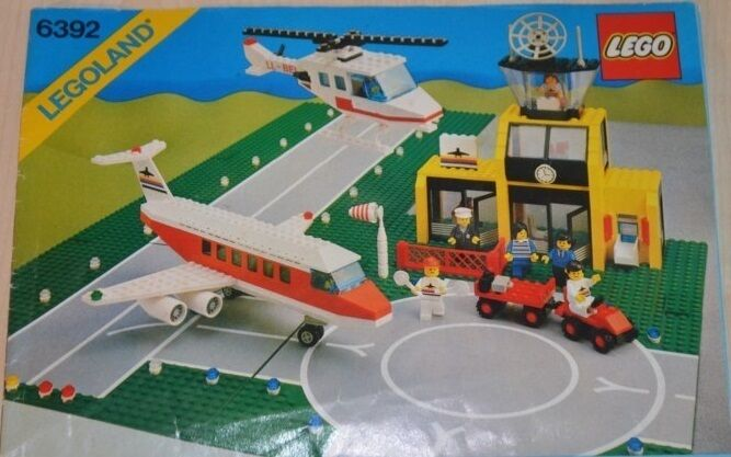 01014 LEGO Town - Airport 6392 + PLAN