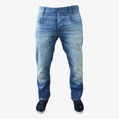 diverse dimensioni used Style G-star New Radar Slim Destroy Jeans Pantaloni NUOVO