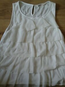 Girls-H-amp-M-age-12-13-years-Cream-Summer-Top-Must-Look