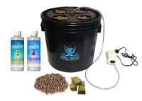 Hydroponic Grow System - Complete Grow System - 4 Site Dwc Hydroponic Kit