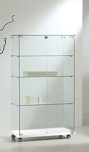 Vetrina vetrinetta espositore display Showcase vetro RICONDIZIONATA ...