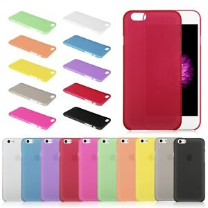 Custodia-FROSTED-Cover-Ultra-Slim-per-Apple-iPhone-6-5S-Rigida-Satinata-0-3-mm