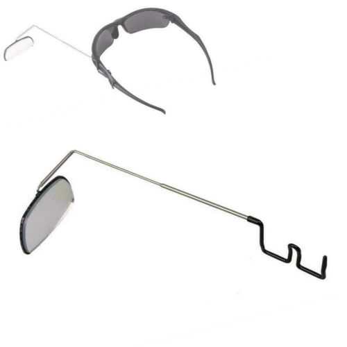 Details about  /Bike Bicycle Cycling Riding Mirror Helmet Mount Rearview Eyeglass View Rear