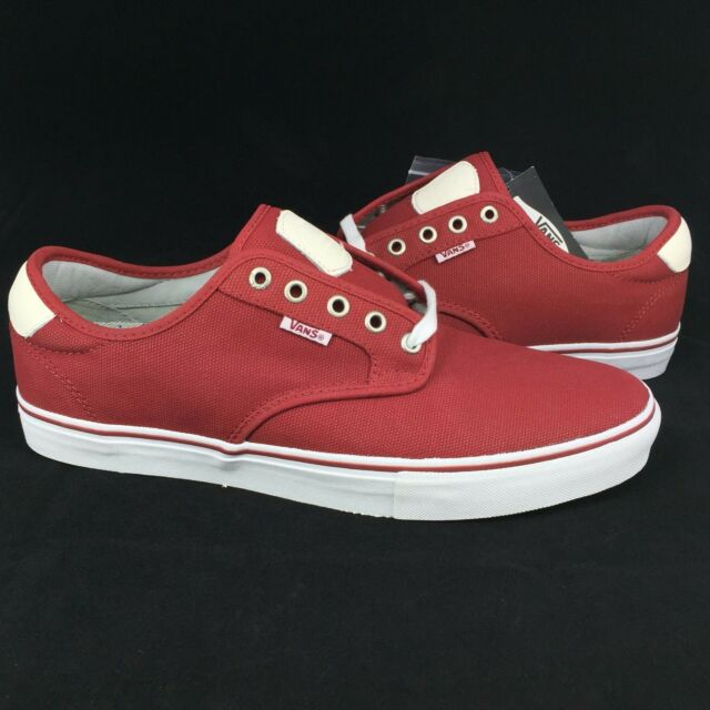 ba9fe014fbfe85 New Vans Chima Ferguson Pro Model Sz. 7.5 Men Waxed Canvas Red Dahlia Skate  Shoe