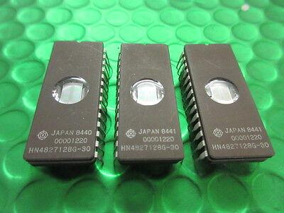 200 ns CMOS UV EPROM 2 x HN27C101G-20 IC-DIL32 128KX8 1 Meg Chip ** 2 **