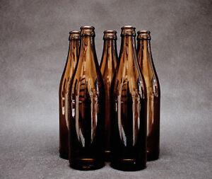45-x-Glass-Beer-Bottles-AMBER-0-5L-500ml-0-5l-100-Crown-Caps-Free-P-amp-P-NEW
