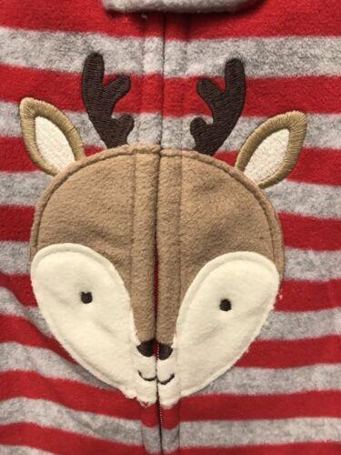 Just One You by Carter/'s NWT Baby Reindeer Microfleece Sleep /'N Play