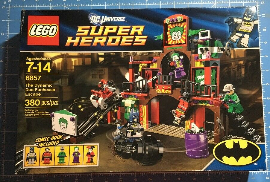 LEGO 6857 Super Heroes The Dynamic Duo Funhouse Escape Toys R Us TRU Exclusive