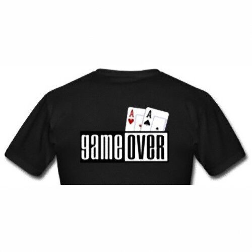 T-shirt Poker Game Over