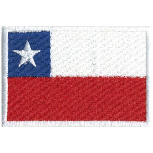 Aufnaeher Applikation Emblem Welt Flaggen Chile Heimat Land Reise Urlaub 20457