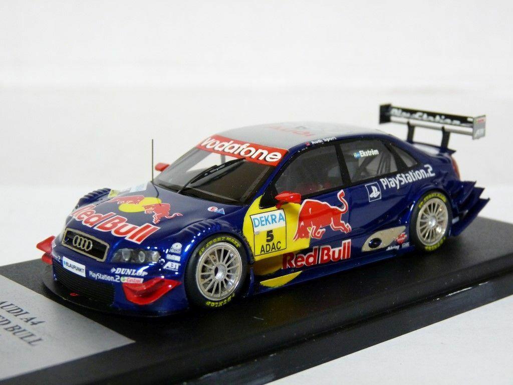 Provence M035 1 43 Audi A4 DTM 2005 Red Bull Handmade Resin Model Car