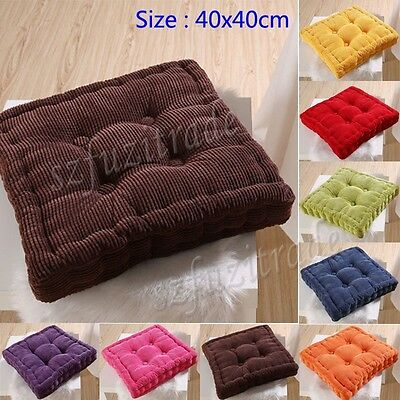 Candy Color Soft Square Seat Cushion Dining Garden Patio Chair Pad Mat Decor New