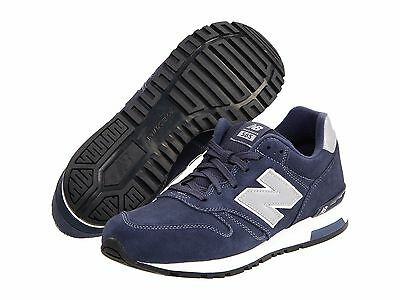 NEW BALANCE ML565NV ML565 Mn's Navy/White Suede Running Classics Shoes