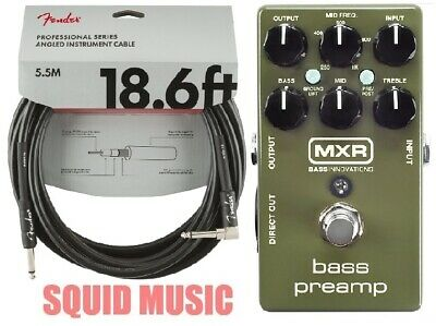 Power adapter and cables! Dunlop M83 MXR Bass Chorus Deluxe
