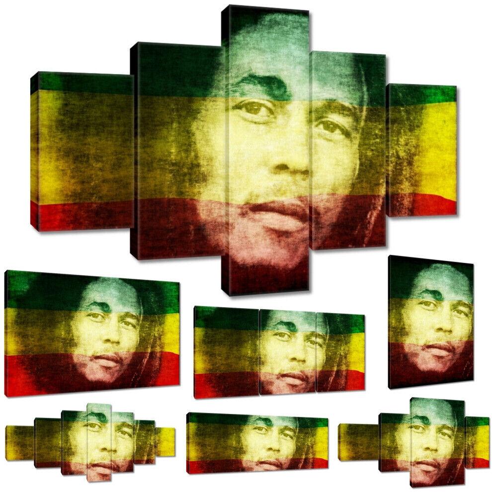 Leinwandbild Canvas Print Wandbild Bob Marley Nr 762