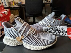 e0c16ab84 Image is loading Adidas-Alphabounce-Instinct-Core-Heather-Grey-Clear-Brown-