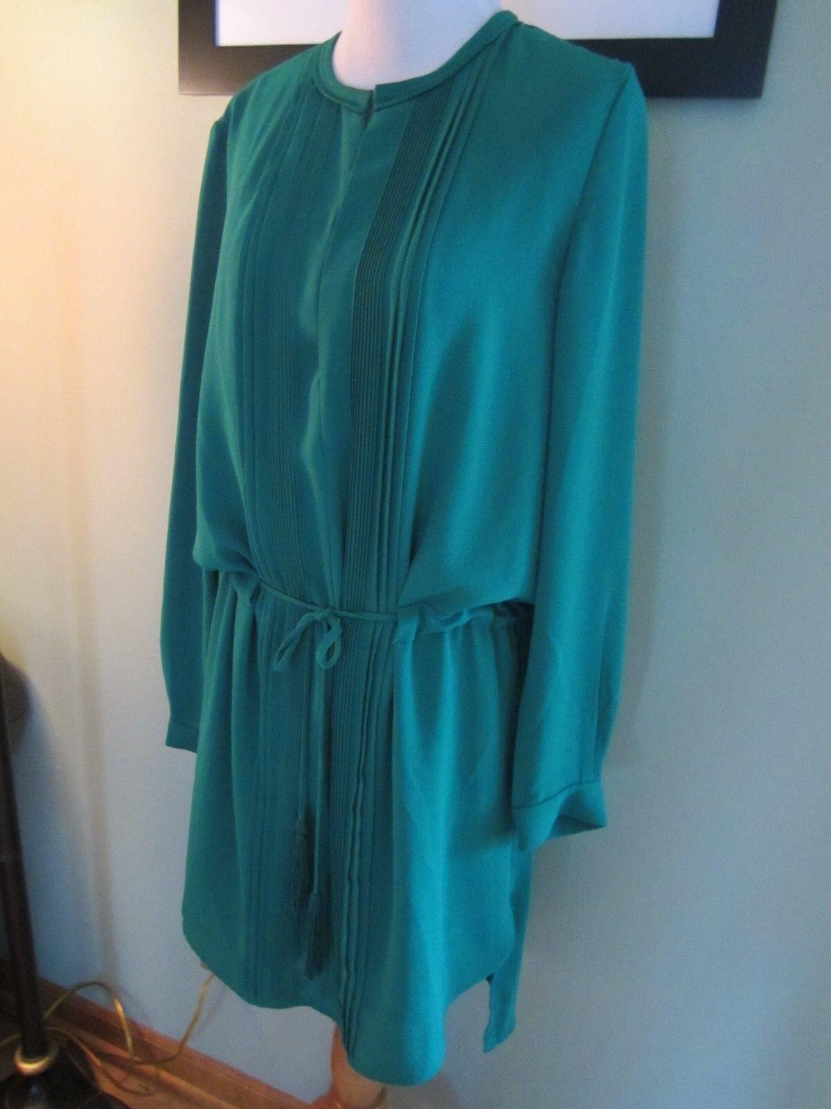 graulin Grün Long Sleeves Tunic Dress Größe M
