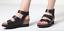 thumbnail 1 - Birkenstock Papillio Linnea Natural Leather Black Sandals Sz 42, 11 US Sold Out