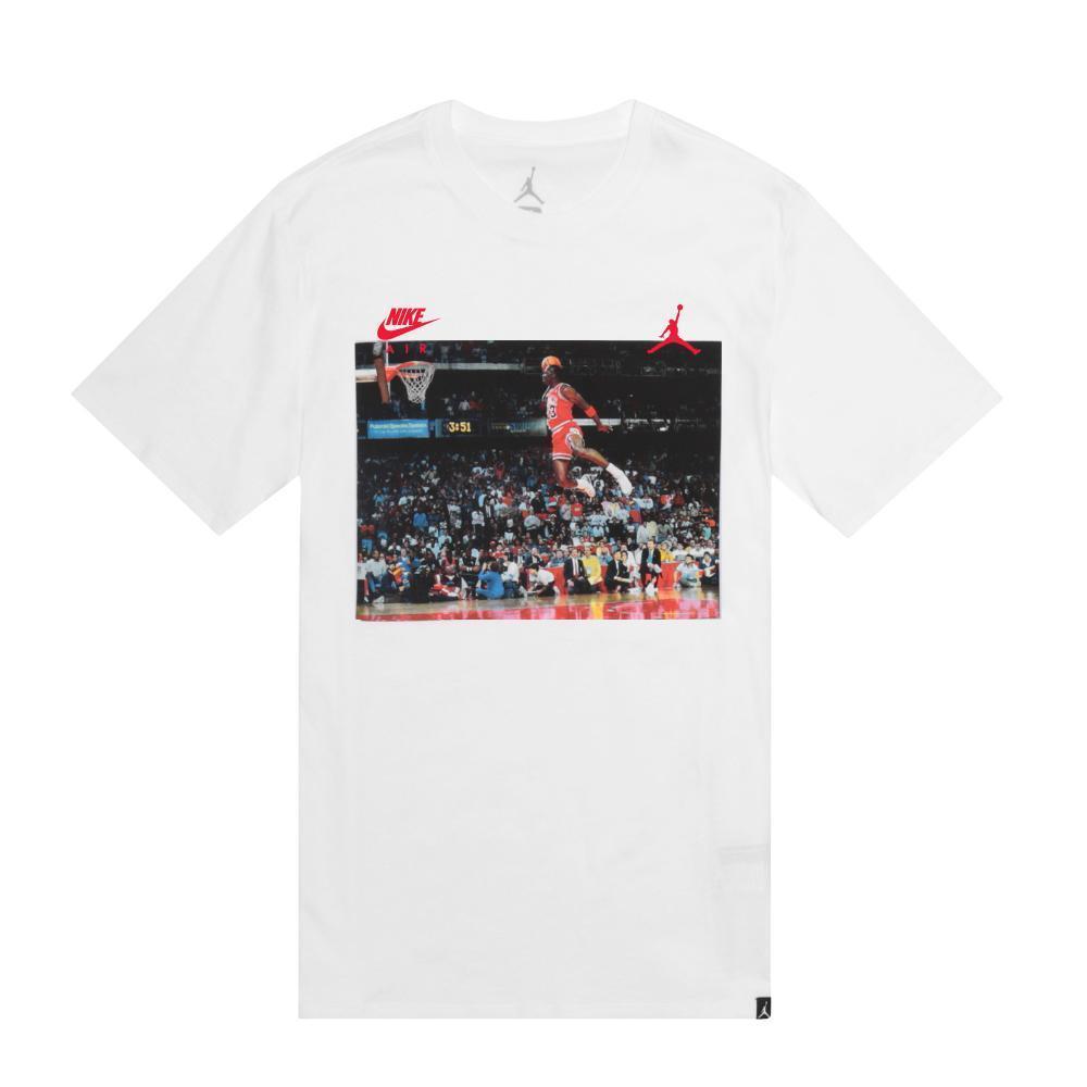 Men's Brand New Jordan Brand  The Dunk  Athletic Fashion Era Shirt [AJ1406-100]