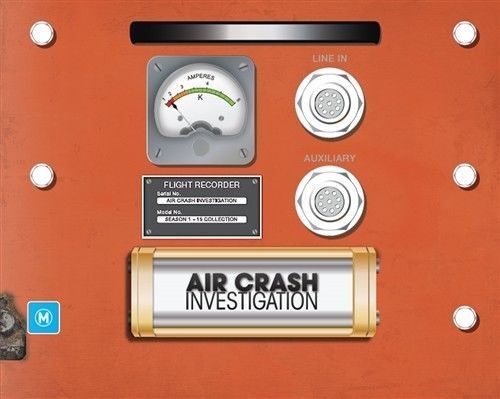 Air Crash Investigations : Season 1-15 (39 Disc Set) Brand New!!
