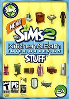 Sims 2: Kitchen & Bath Interior Design Stuff Pc