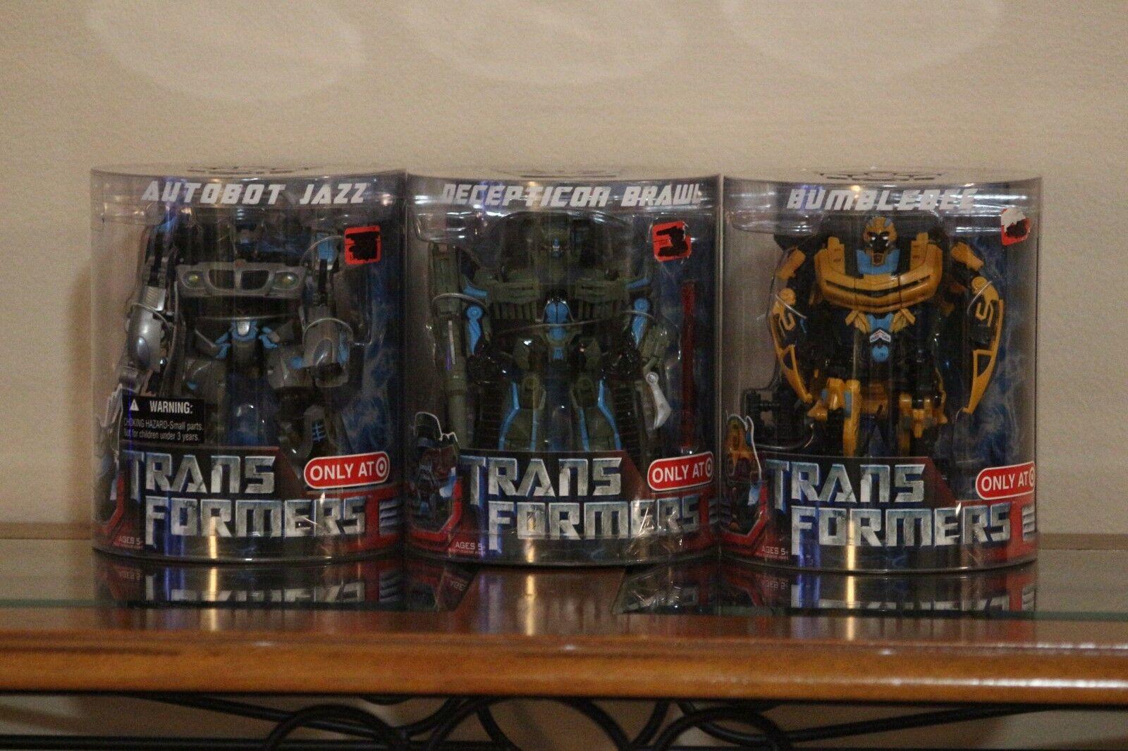 Transformers Decepticon Brawl bumblebbe Autobot Jazz