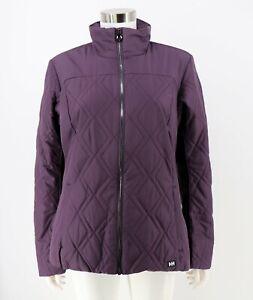 Helly Hansen NWT Large Crew Insulator Jacket Nightshade Purple Insulated Womens