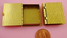UNIQUE ANTIQUE BRASS BOOK LOCKET-SPEC. FINISH-1 PC(s)