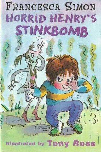 1 of 1 - Horrid Henry's Stinkbomb by Francesca Simon (Paperback, 2002)