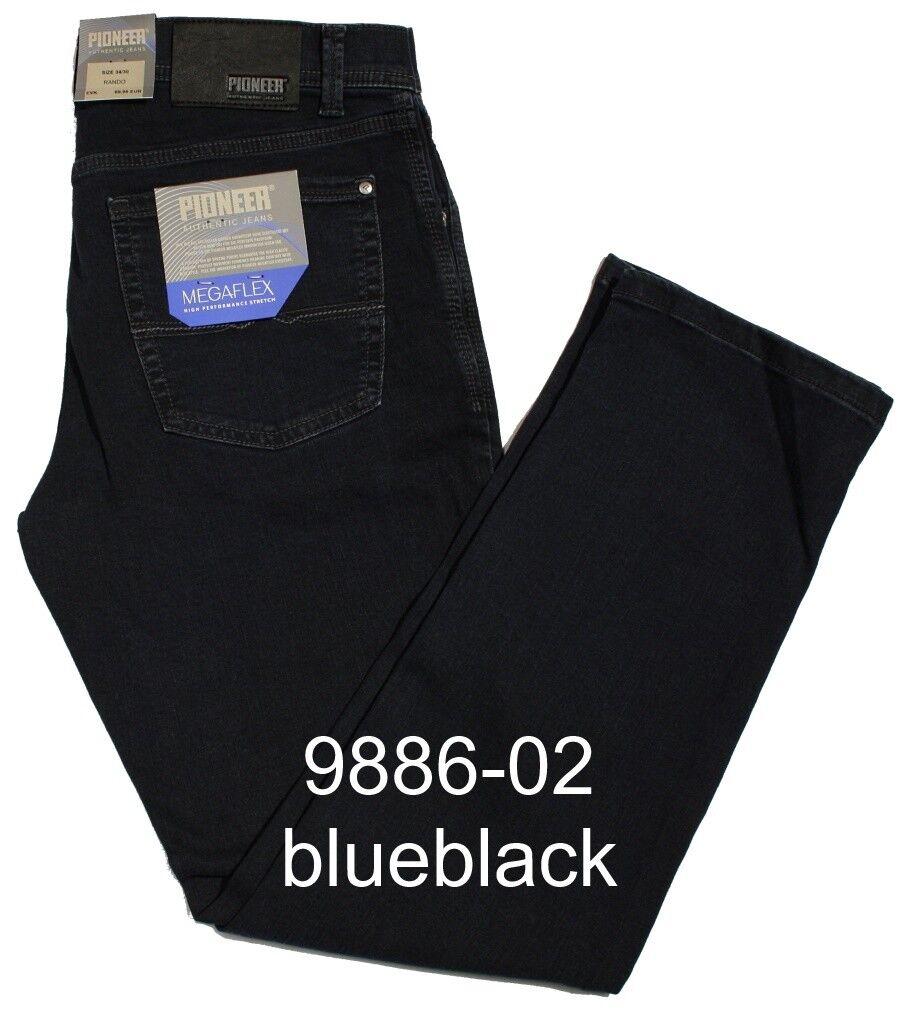 PIONEER Jeans RANDO MegaFLEX 1680 9886-02 blueblack auch Länge 38 Stretch
