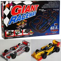 Afx Giant Raceway Electric Ho Slot Car Race Set Megag+ Tri Power 21017 on sale