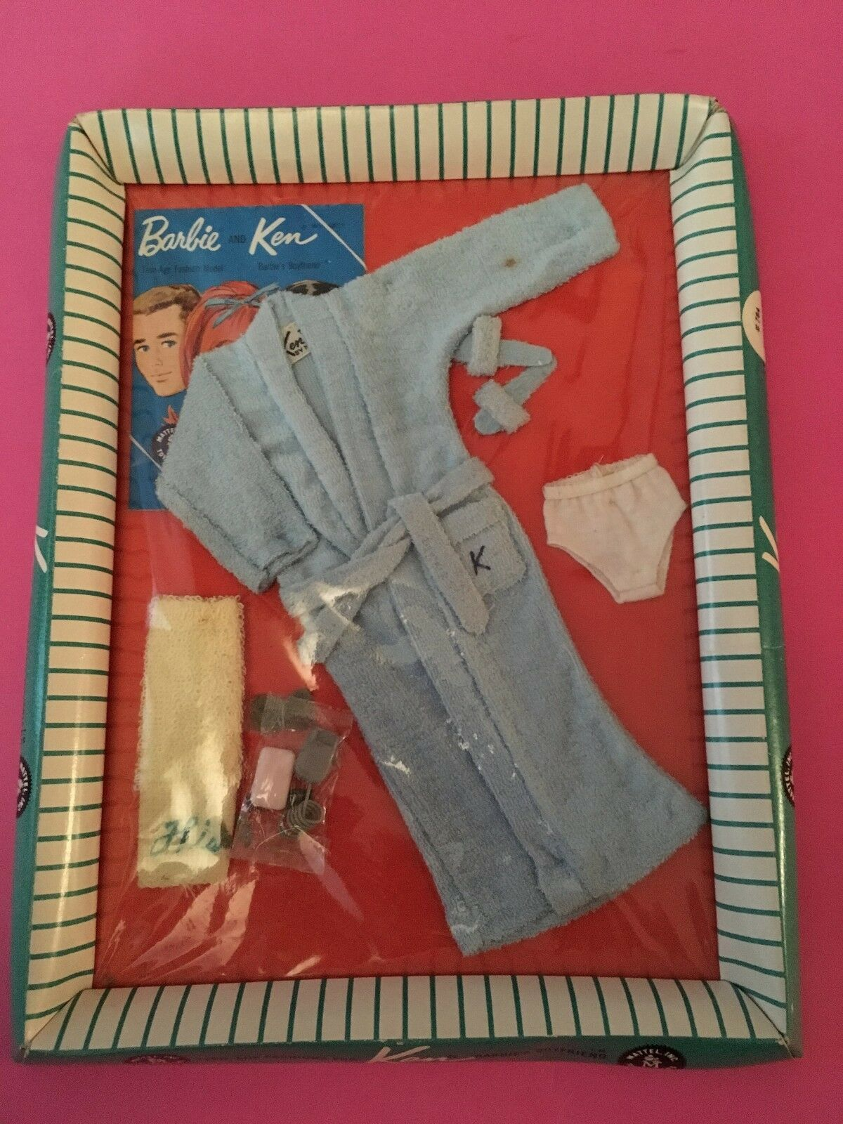 Vintage Barbie Terry Togs Ken Outfit  784 NRFB 1961  OUTFIT