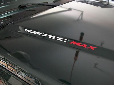 6.2L VORTEC Hood sticker decals emblem Chevy Silverado GMC Sierra HD 2015 2