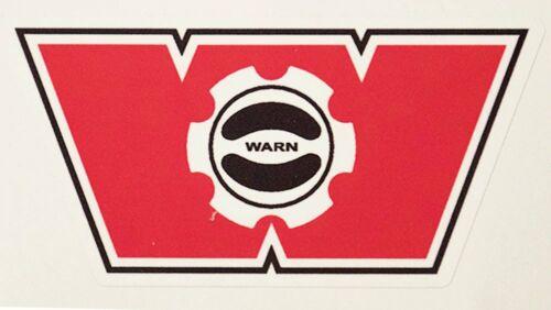Warn Industries Winch Hub Decal Sticker