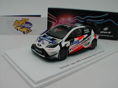 Toyota Yaris WRC Rallye Finnland 2017 Grönholm VIP Presentation  1:43 Spark 5170