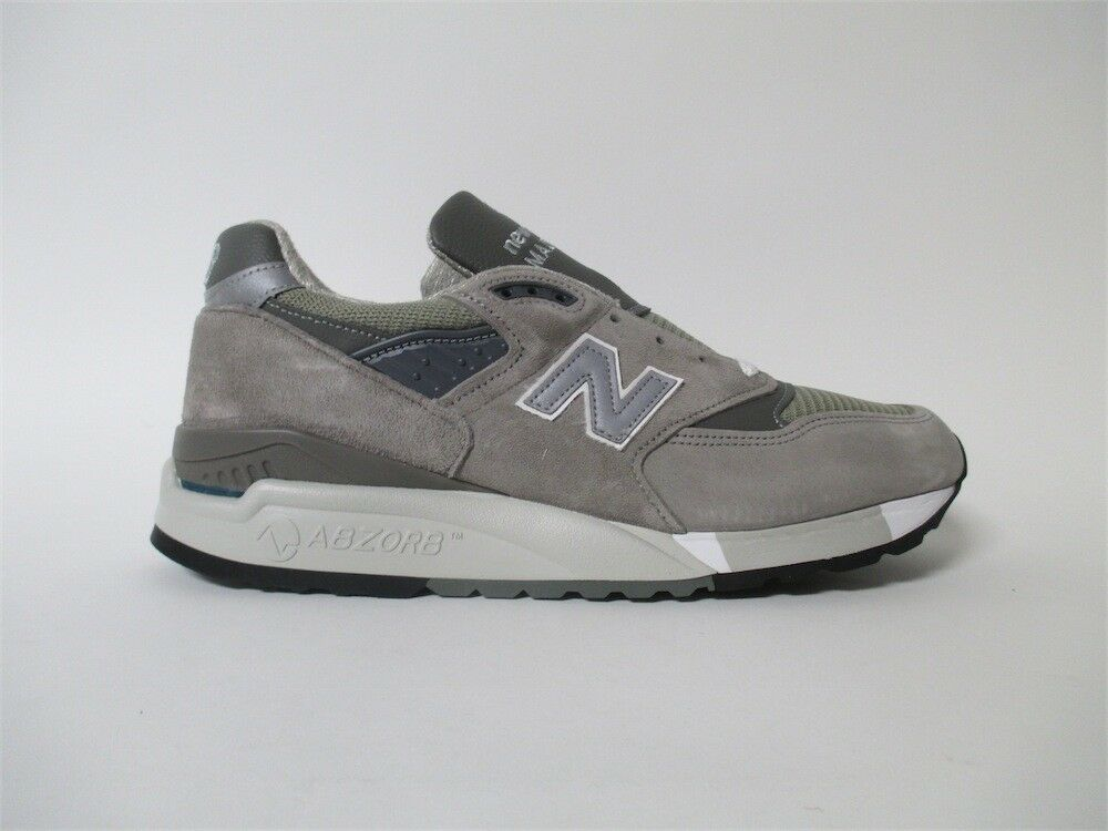 New Balance 998 Made in USA Bringback Grey White Sz 7 M998